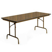 "KI Folding Table - Laminate - 30""W x 96""L - English Oak - Premier Series"