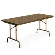"KI Folding Table - Laminate - 36""W x 72""L - English Oak - Premier Series"