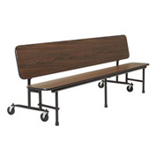 KI 8' Convertible Bench - Brighton Walnut
