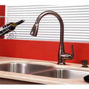 "Kraus KBU24-KPF2230-KSD30ORB 32"" Undermount Double SS Sink W/ORB Finish, Faucet & Soap Dispenser"
