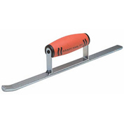 "Kraft Tool Co® BL215PF Half Round Convex Sled Runner W/ProForm® Handle, 14"" x 1/2"""