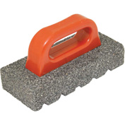 "Kraft Tool Co® CF268 20 Grit Rub Brick, 8"" x 3-1/2"" x 1-1/2"""