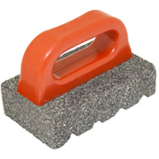 "Kraft Tool Co® CF283 20 Grit Rub Brick, 6"" x 3"" x 1"""