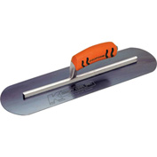 "Kraft Tool Co® CF736BPF Blue Steel Pool Trowel W/ProForm® Handle, 14"" x 4"""