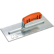 "Kraft Tool Co® PL468PF Carbon Steel Plasterer's Trowel W/ProForm® Handle, 12"" x 5"""