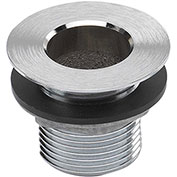 "Krowne 23-111 - 1"" NPS Nickel Plated Drain"