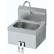 "Krowne HS-15 - 16"" Wide Hand Sink with Knee Valve"