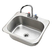 "Krowne HS-2017 - 20"" x 17"" Drop-In Hand Sink"