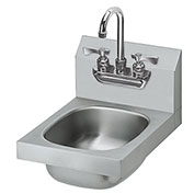 "Krowne HS-21 - 12"" Wide Hand Sink with Heavy Duty Faucet"