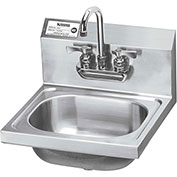 "Krowne HS-22 - 16"" Wide Hand Sink with Heavy Duty Faucet"