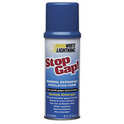White Lightning® Stop Gap!® - 16 Oz. - Minimal Expanding Foam - Pkg Qty 8