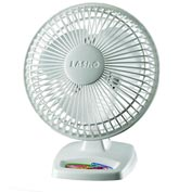 "Lasko 2002W 6"" Personal Fan, 2-Speed, 110V, White"