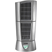 "Lasko 4910 6"" Wind Tower® Desktop Fan, 3-Speed, 110V, Platinum"