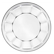 "Libbey Glass 15412 - Glass Plate Salad Soup 8"", 17.75 Oz., 36 Pack"