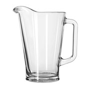 Libbey Glass 1792421 - Liter Pitcher 37 Oz., 6 Pack
