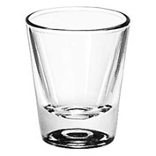 Libbey Glass 5121 Whiskey Glass 1.25 Oz., Pressed, 72 Pack