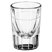 Libbey Glass 5127 Whiskey Glass 1.5 Oz., Fluted, 48 Pack