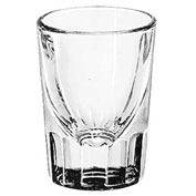 Libbey Glass 5135 - Whiskey Glass 1.25 Oz., Flute, 48 Pack