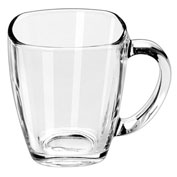 Libbey Glass 5352 - Square Mug 14 Oz., 12 Pack