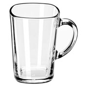 Libbey Glass 5380 - Tall Square Mug 16 Oz., 12 Pack
