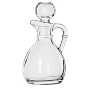 Libbey Glass 75305 - Glass Cruet 6 Oz., With Stop, 12 Pack