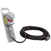 Larson Electronics EPEXC-25-12.3-125V, 25' Double Gang Explosion Proof Ext Cord, 20A Continual Serv.