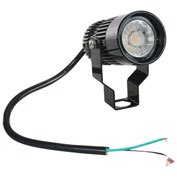 Larson Electronics LEDBLT-18W-SP-BLK-1227, 18 W LED Fixture- Aluminum Housing, IP65 Waterproof
