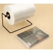 "Gusseted Bags on a Roll, 12"" x 10"" x 24"" 130 Mil Clear, 500 per Roll"