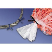 """Paper Covered Twist Ties, 7"""" White 2000/CASE"""