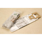 "High Density Newspaper Bags, 7-1/2"" x 21"" + 1-1/2 Lip 0.4 Mil Clear, 2000/CASE"