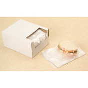 Clear Sandwich Bags in Dispenser Box 0.75 mil, 7X7 +1.5 FT , 2000 per Case, Clear