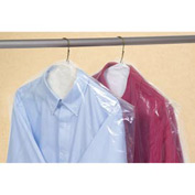 Clear Garment Bags on a Roll 0.6 mil, 21X4X54, 360 per Roll, Clear