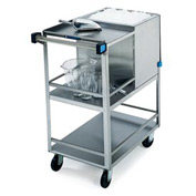 Lakeside® Stainless Steel Ice Cart - 50 Lb Capacity