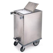 Lakeside® Stainless Steel Ice Cart - 200 Lb Capacity