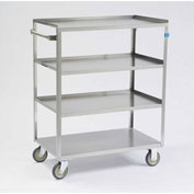 Lakeside® 333 Stainless Steel Linen Service Cart 300 Lb. Capacity
