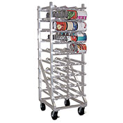Lakeside® 335 Aluminum Full Sized Can Rack - 144(#10 Cans),192(#5 Cans)