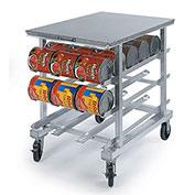 Lakeside® 338 Poly Top Work Height Can Rack - 72(#10 Cans), 96(#5 Cans)