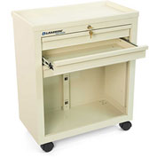 Lakeside® BV06 Classic 3-Drawer Medical Bedside Cart, Key Lock