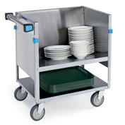 "Lakeside® 407 Open Store N Carry Dish Truck - 200 9"" Plates"