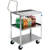 Lakeside® 4444 Handler Stainless Steel Cart 39-1/4 x 23-3/8 x 49-1/4 500 Lb Cap