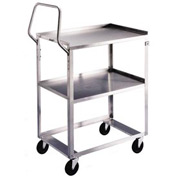Lakeside® 6610 Ergo-One System Stainless Steel Cart 31 x 19 x 44 300 Lb Cap