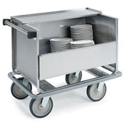 Lakeside® 707 - Store N Carry Dish Truck, Stainless Steel