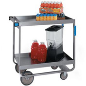 Lakeside® 727 HD Deep Shelf Stainless Steel Cart 38 x 22-1/4 x 37-1/4 700 Lb Cap