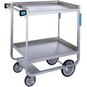 Lakeside® 743 HD Stainless Steel 2 Shelf Cart 38-5/8 x 22-3/8 x 37-1/8 700 Lb Cap