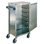 Lakeside® Late Tray Cart - Silver