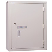 "Lakeside® High Security Narcotic Cabinet with Electronic Lock, 24""W x 10""D x 30""H, Beige"