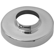 """Lavi Industries, Flange Canopy, for 2"""" Tubing, Polished Brass"""