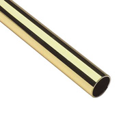 "Lavi Industries, Tube, 1.5"" x .050"" x 8', Polished Brass"