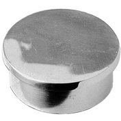 "Lavi Industries, End Cap, Flush, for 1.5"" Tubing, Polished Stainless Steel"