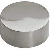 """Lavi Industries, End Cap, Flush, used for Wood, for 2"""" Tubing, Polished Stainless Steel"""